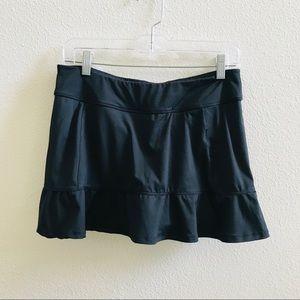 FILA women's black athletic skirt skort tennis run
